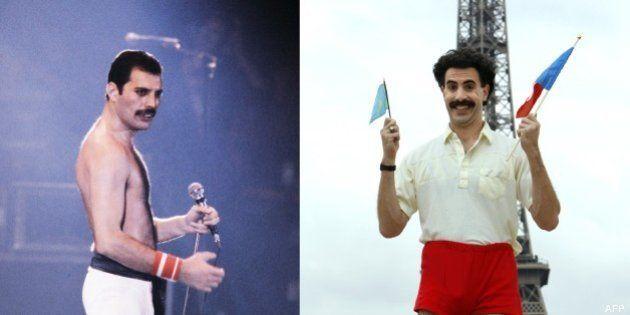 VIDEO. Sacha Baron Cohen en Freddie Mercury: l'acteur britannique renonce à cause d'un désaccord avec