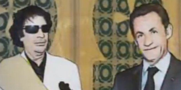 VIDEO. Sarkozy et Kadhafi aussi opposés que Churchill et Hitler selon Henri