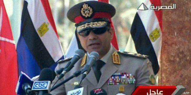 Egypte: le chef de l'armée appelle à manifester