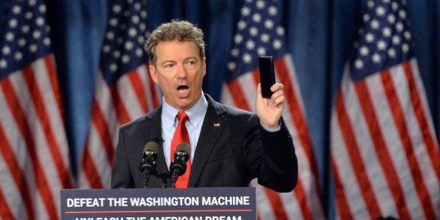 Election présidentielle américaine 2016: le libertarien Rand Paul candidat à la Maison