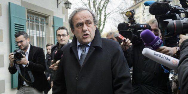 Michel Platini suspendu 8 ans par la commission d'éthique de la Fifa, même peine pour Sepp