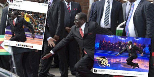PHOTOS. Chute de Mugabe: la photo que les autorités ont voulu censurer parodiée sur les réseaux