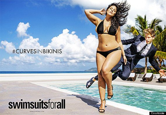 Ashley Graham dans Sports Illustrated: un premier mannequin grande taille dans l'édition maillots de...