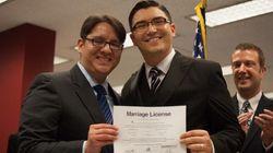 Mariés et gay, les hommes vivent plus