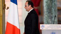 Qu'a dit le corps de François Hollande pendant sa conférence de