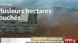 Glissement de terrain catastrophique en