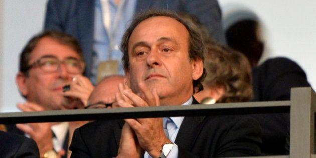 Michel Platini dénonce une