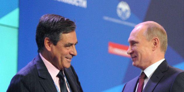 Syrie: Face à Poutine, Fillon critique ouvertement