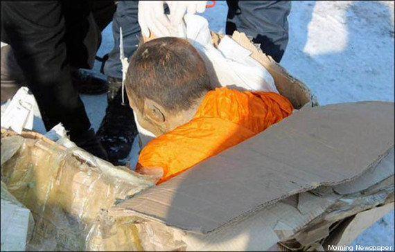 PHOTOS. Un moine bouddhiste en