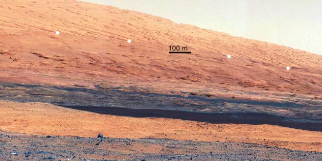 La vie sur Mars a pu exister dans le passé selon la