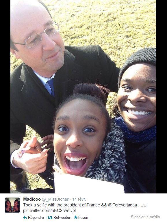 Le selfie de cette ado avec Hollande lui a fait passer un sale quart