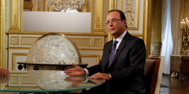Syrie: François Hollande pour des livraisons d'armes