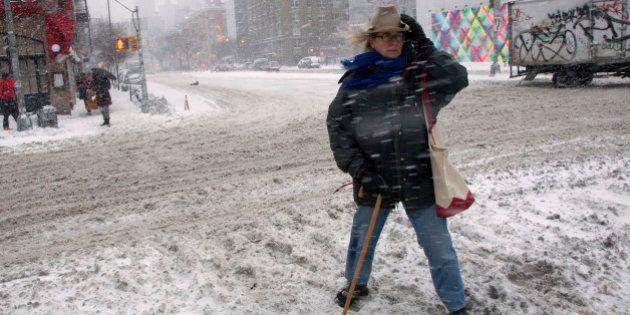 PHOTOS. Tempête de neige dans l'Est des États-Unis : entre 16 et 18