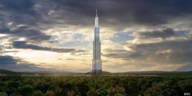 Chine: les travaux de la plus haute tour du monde, la Sky City, interrompus à