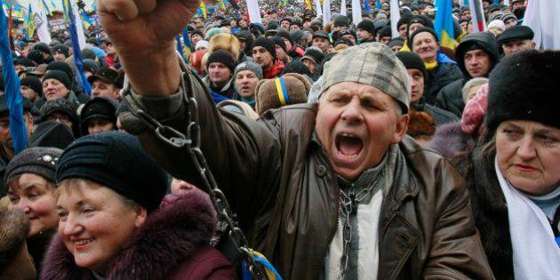 EN IMAGES. Manifestation en Ukraine : l'opposition espère mobiliser un milion de