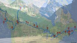 Envie de visiter le Canada? Un ordinateur a calculé le road-trip