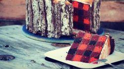 Une bûche de Noël pour hipsters (et