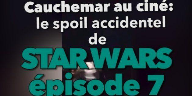 VIDÉO. Ce cinéma a spoilé Star Wars 7 en pleine