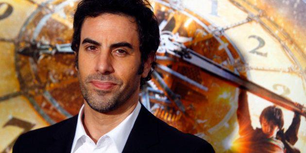 Sacha Baron Cohen renouvelle son contrat avec Paramount Pictures et son explication est