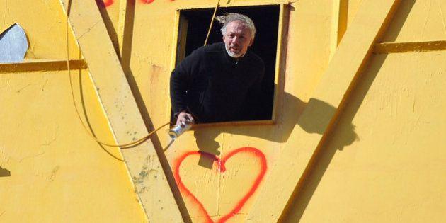 Papa divorcé: un an après être monté sur une grue, Serge Charnay