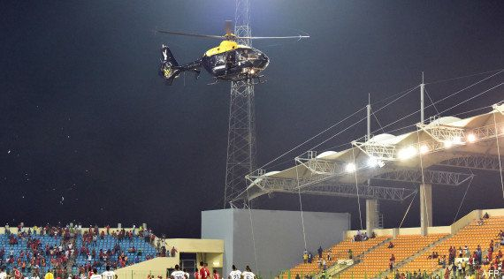 PHOTOS. Le match Guinée Equatoriale - Ghana en demi-finale de la CAN 2015 vire au