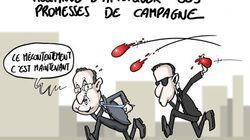 François Hollande face à ses