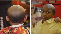 PHOTOS. Ce coiffeur offre une coupe