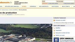 Une usine bretonne à vendre sur Le Bon