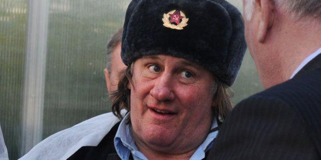 Exil fiscal : Depardieu a créé une société en Belgique. Et la Russie alors