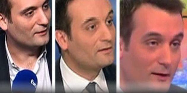 VIDÉO. FN: quand Florian Philippot ne voulait pas mettre Jean-Marie Le Pen à la