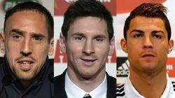 Ballon d'Or : comme prévu, Ronaldo, Ribéry et Messi