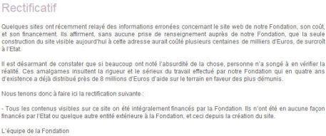 Carla Bruni sommée de rembourser les 410.000 euros dépensés pour le site Internet de sa