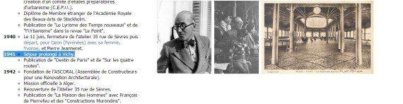 Le Corbusier, fasciste militant: des ouvrages fissurent l'image du grand