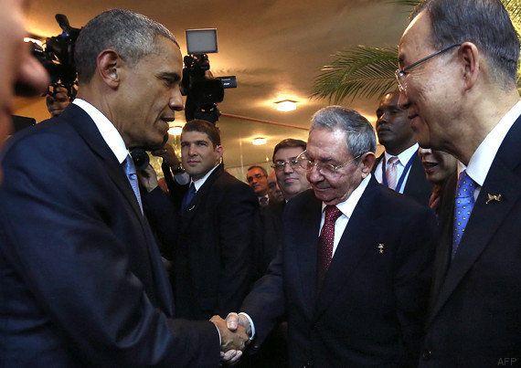 Barack Obama et Raul Castro réunis au Panama pour un sommet