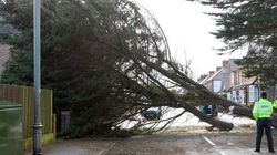 La Grande-Bretagne également durement touchée par la tempête