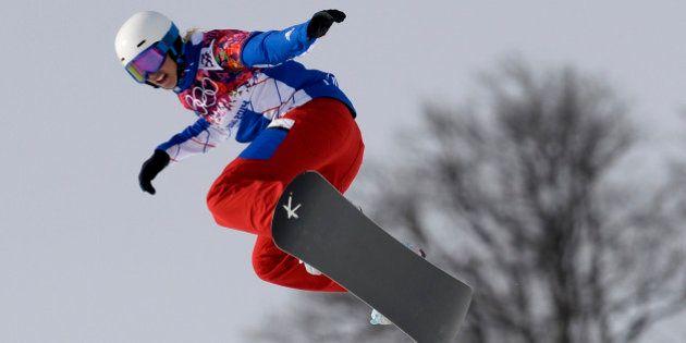 Sotchi : médaille de bronze pour la française Trespeuch en snowboardcross, la Tchèque Samkova championne