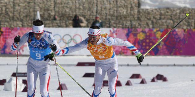 Sotchi: médaille de bronze pour la France au relais 4x10 km de ski de fond, la Suède en