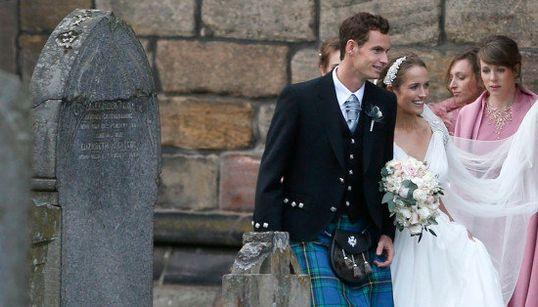 L'Écossais Andy Murray s'est marié en