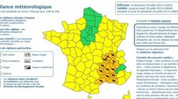 Orages violents : 14 départements en vigilance