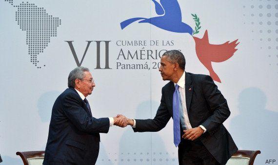 Obama et Castro se rencontrent officiellement au Panama, une première depuis plus d'un