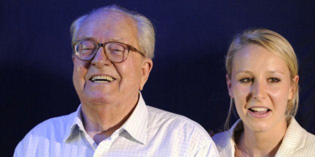 Jean-Marie Le Pen adoube sa petite-fille Marion s'il devait être remplacé aux régionales en