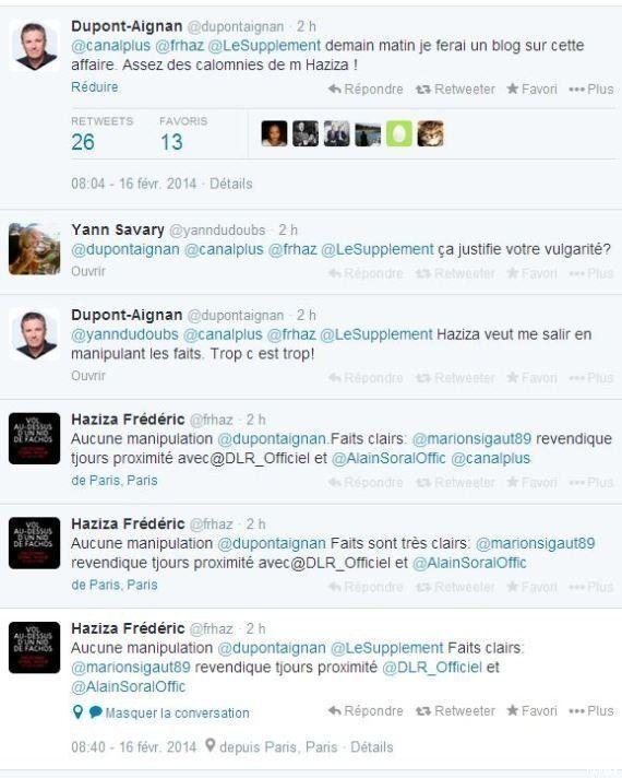 VIDÉO. Nicolas Dupont-Aignan traite un journaliste de