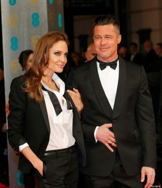 PHOTOS. Brad Pitt et Angelina Jolie, costumes assortis sur le tapis rouge des