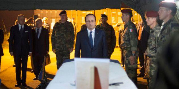 Centrafrique: François Hollande à Bangui après la mort de deux soldats