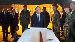 Hollande à Bangui après la mort de deux soldats