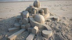 Ces châteaux de sable sont