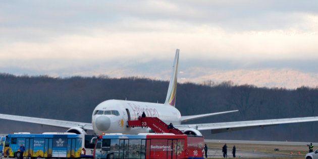 Avion détourné en Suisse : l'armée française obligée d'intervenir car il n'était pas encore