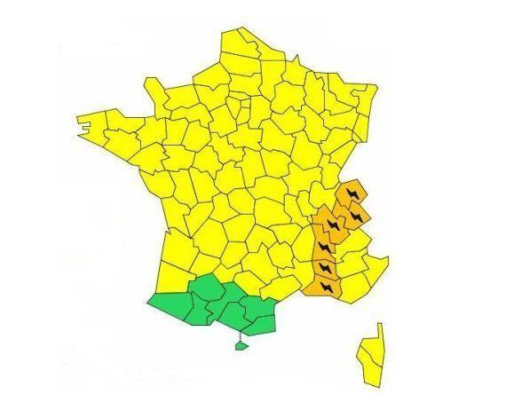 Orages violents : 6 départements en vigilance