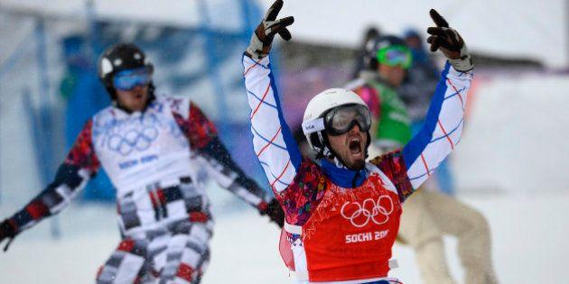 Sotchi: Pierre Vaultier champion olympique de snowboard
