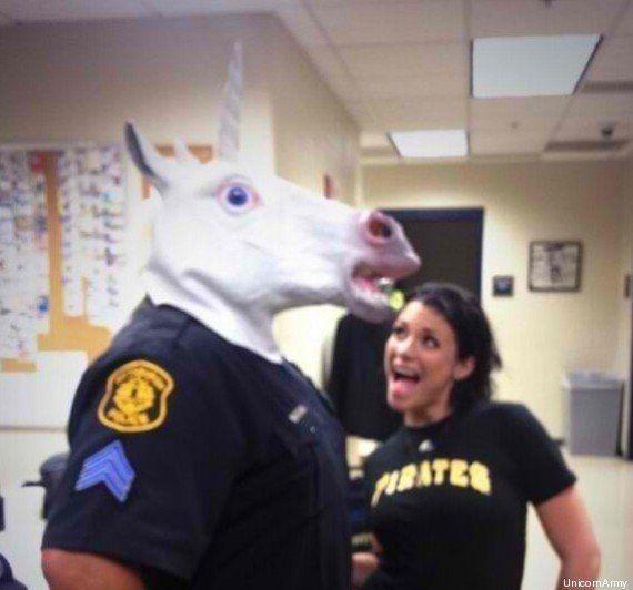 PHOTOS. L'unicorning, nouveau meme populaire